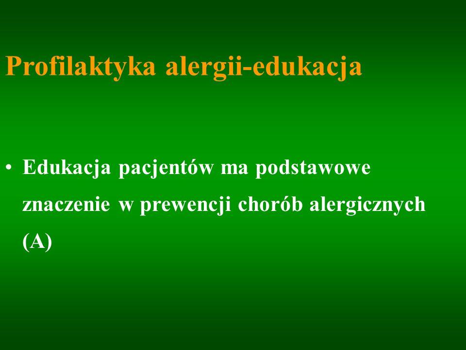 Profilaktyka alergii-edukacja
