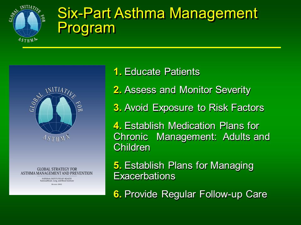 Six-Part Asthma Management Program