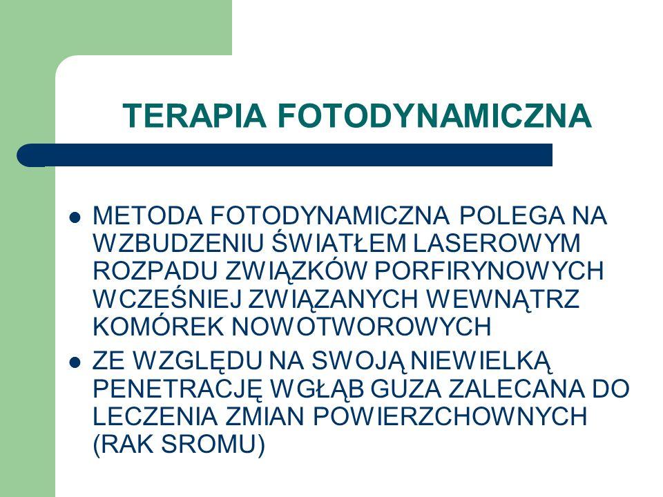 TERAPIA FOTODYNAMICZNA