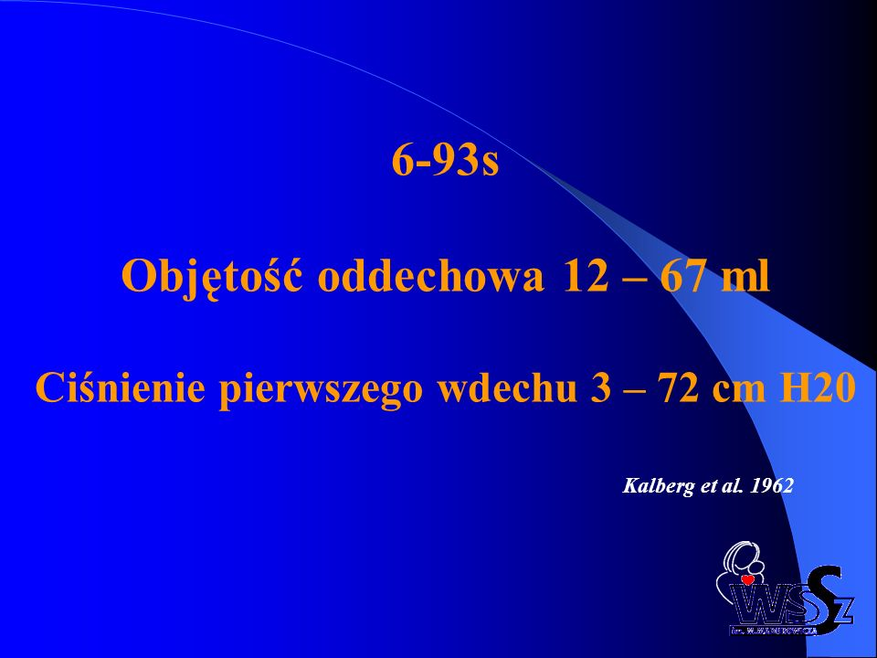 6-93s Objętość oddechowa 12 – 67 ml