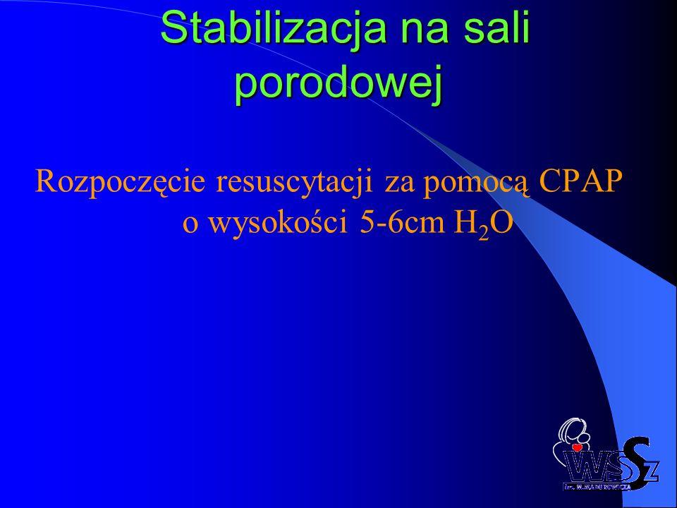 Stabilizacja na sali porodowej