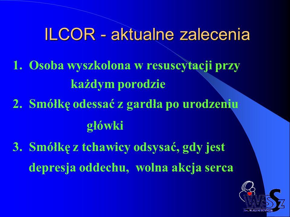 ILCOR - aktualne zalecenia