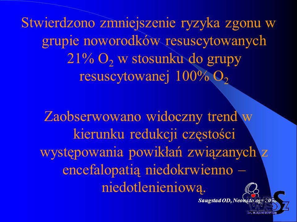 Saugstad OD, Neonatology 2008