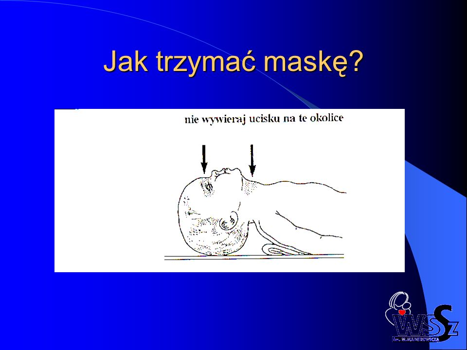 Jak trzymać maskę