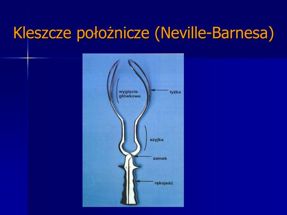 Kleszcze położnicze (Neville-Barnesa)