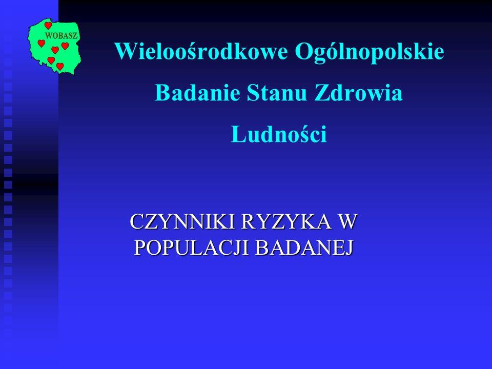 Wieloośrodkowe Ogólnopolskie Badanie Stanu Zdrowia Ludności