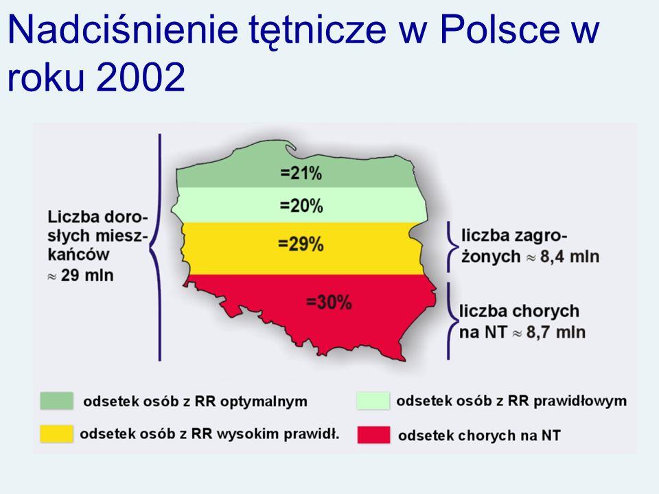 Nadciśnienie tętnicze w Polsce w roku 2002