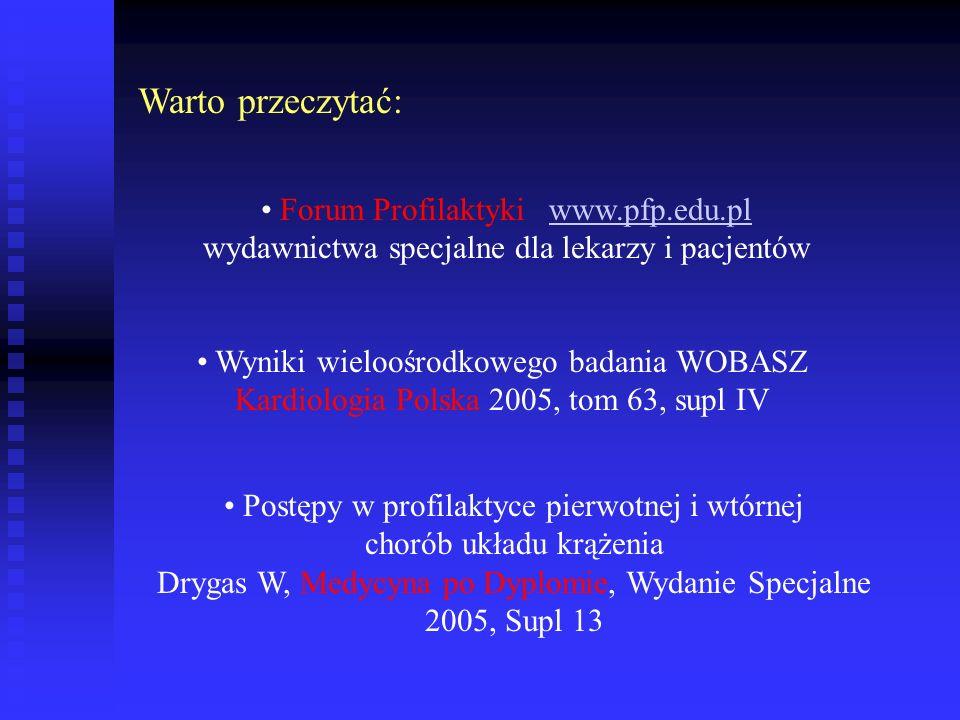 Warto przeczytać: Forum Profilaktyki www.pfp.edu.pl