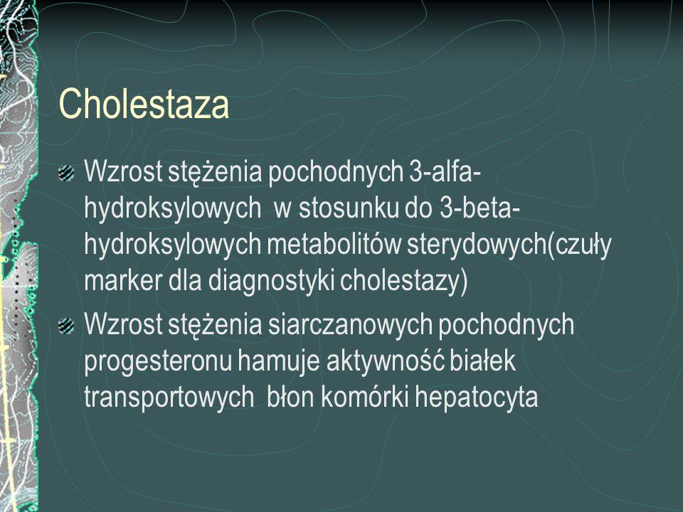 Cholestaza