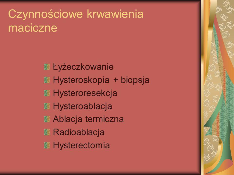 Czynnościowe krwawienia maciczne
