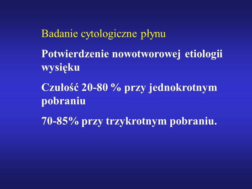 Badanie cytologiczne płynu