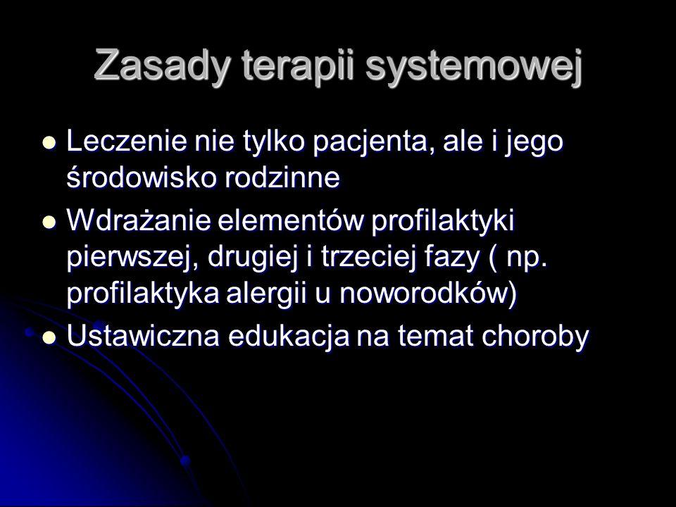 Zasady terapii systemowej