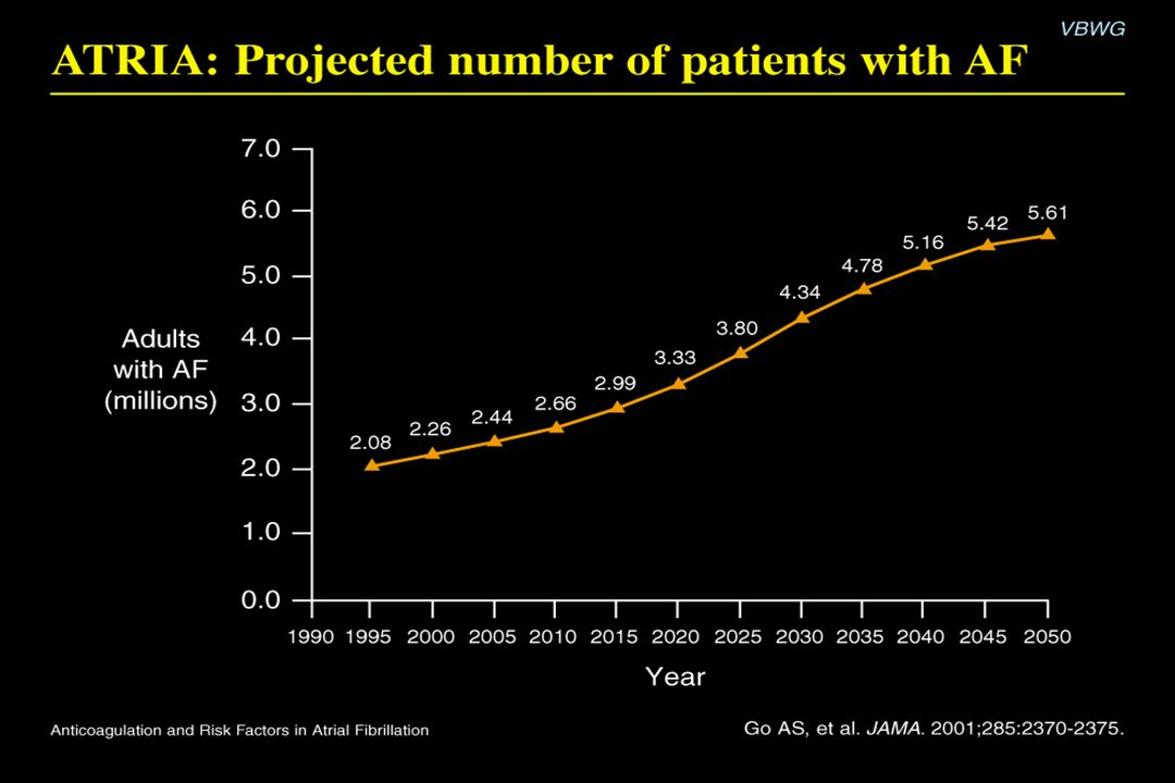 ATRIA: Projected number of patients with AF Content Points: