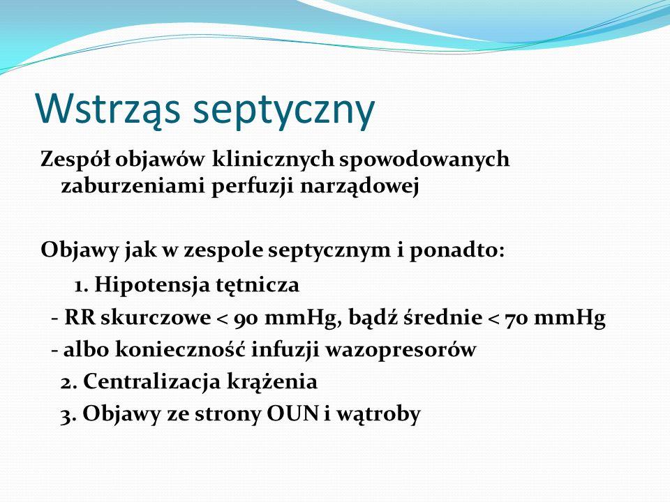 Wstrząs septyczny