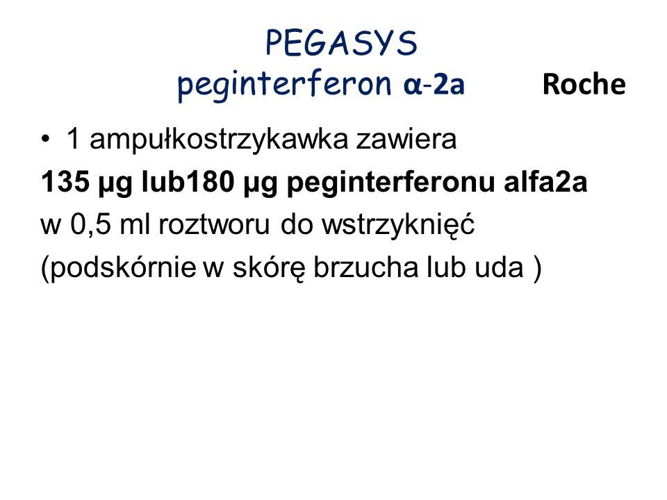 PEGASYS peginterferon α-2a Roche