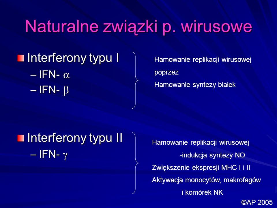 Naturalne związki p. wirusowe