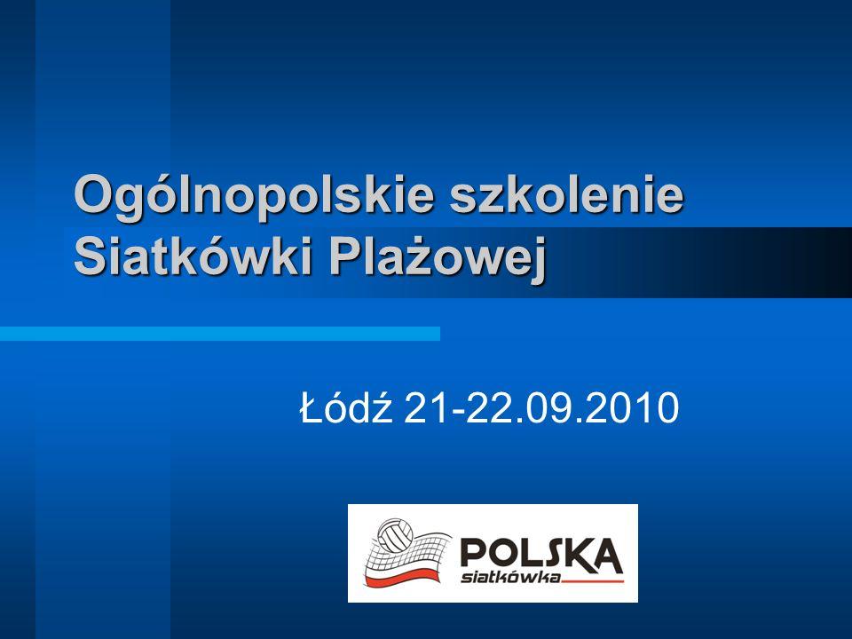 Ogólnopolskie szkolenie Siatkówki Plażowej