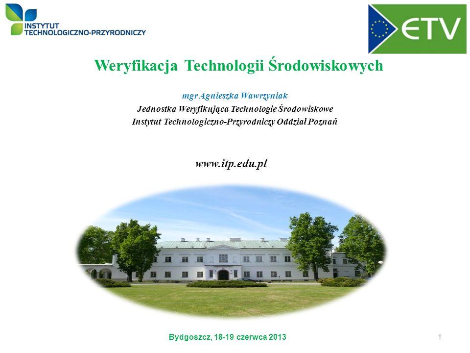 Weryfikacja Technologii Środowiskowych