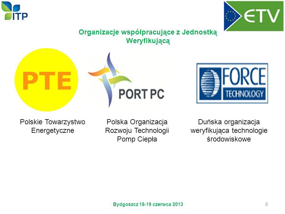 Organizacje współpracujące z Jednostką Weryfikującą