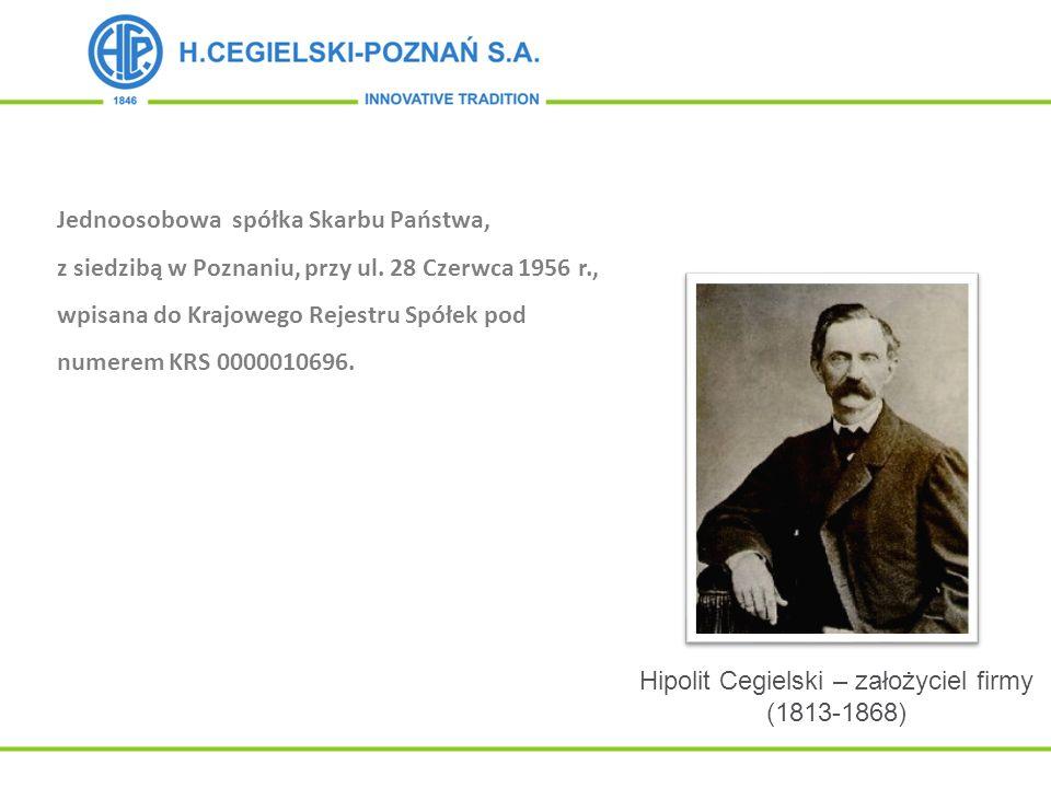 Hipolit Cegielski – założyciel firmy