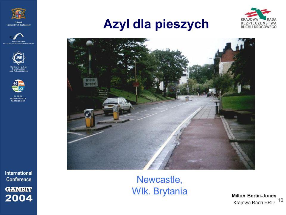 Azyl dla pieszych Newcastle, Wlk. Brytania