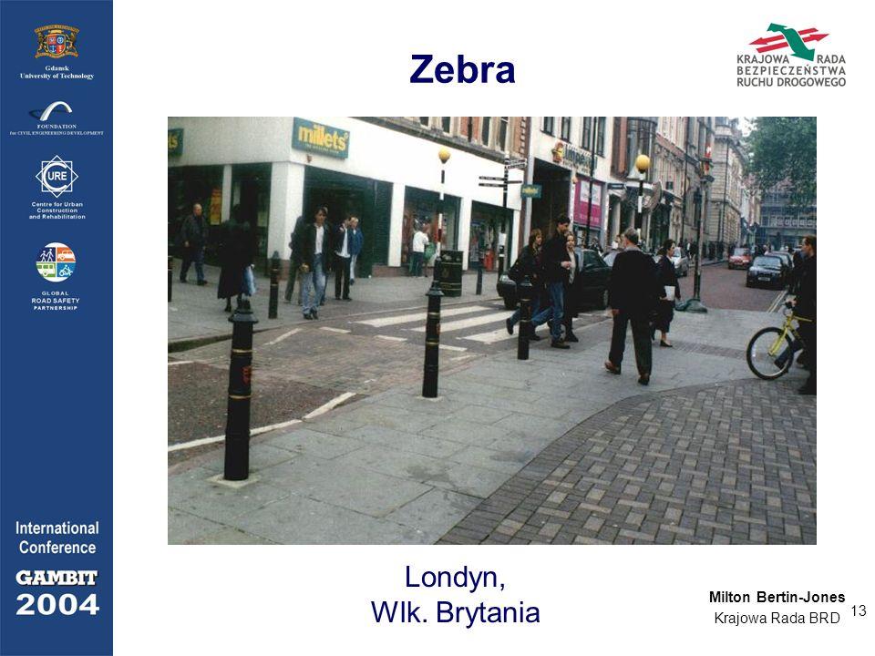 Zebra Londyn, Wlk. Brytania