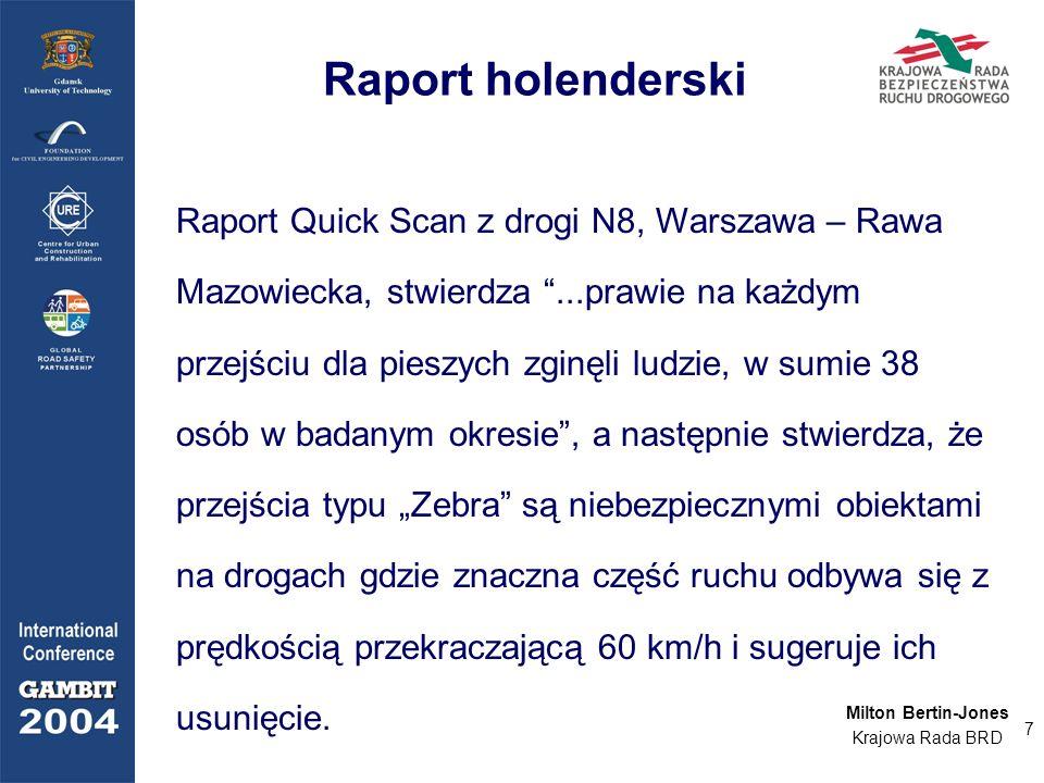 Milton Bertin-Jones - Piesi w Polsce: Szansa na uratowanie ludzkiego życia