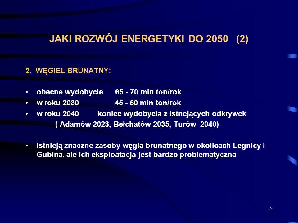 JAKI ROZWÓJ ENERGETYKI DO 2050 (2)