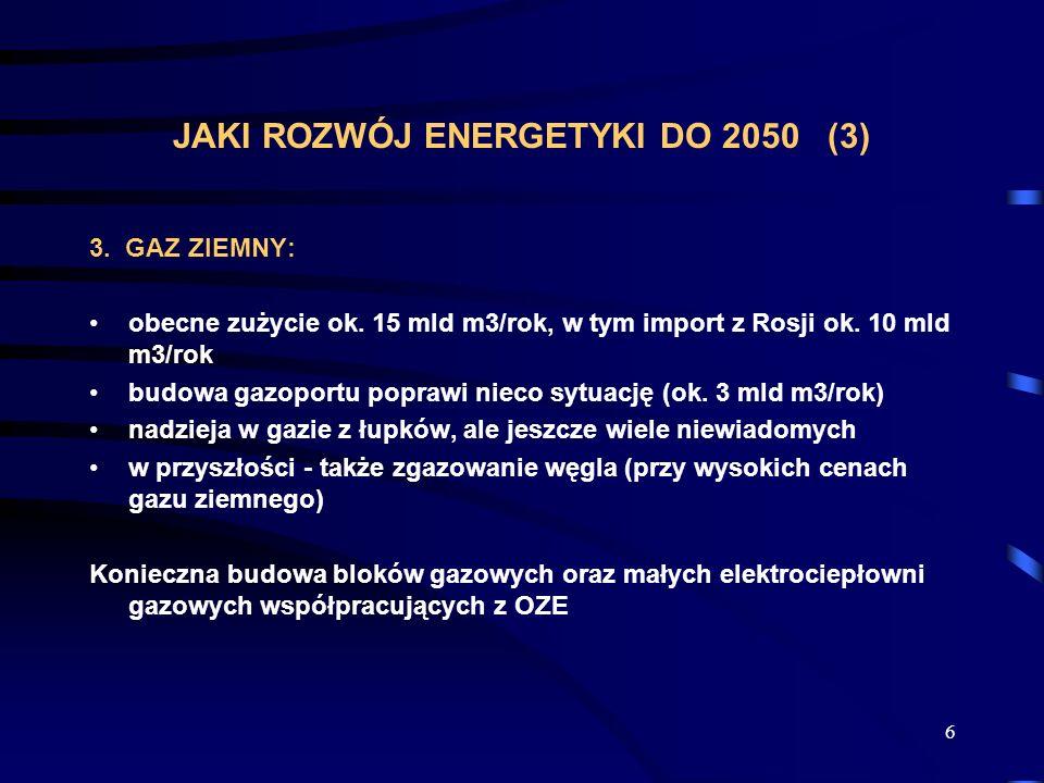 JAKI ROZWÓJ ENERGETYKI DO 2050 (3)