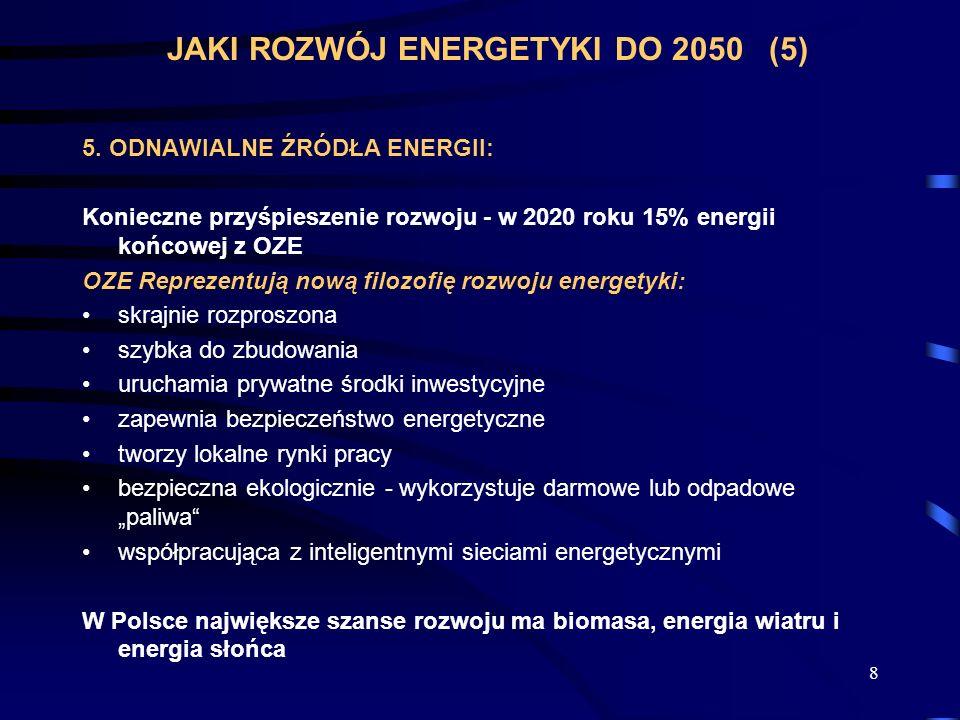 JAKI ROZWÓJ ENERGETYKI DO 2050 (5)