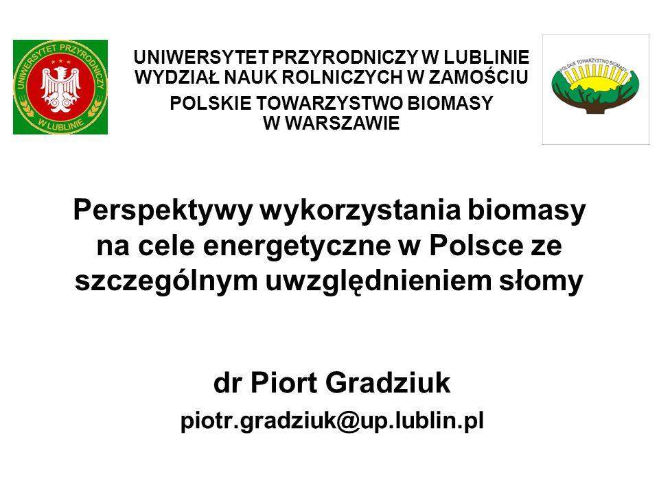 dr Piort Gradziuk piotr.gradziuk@up.lublin.pl