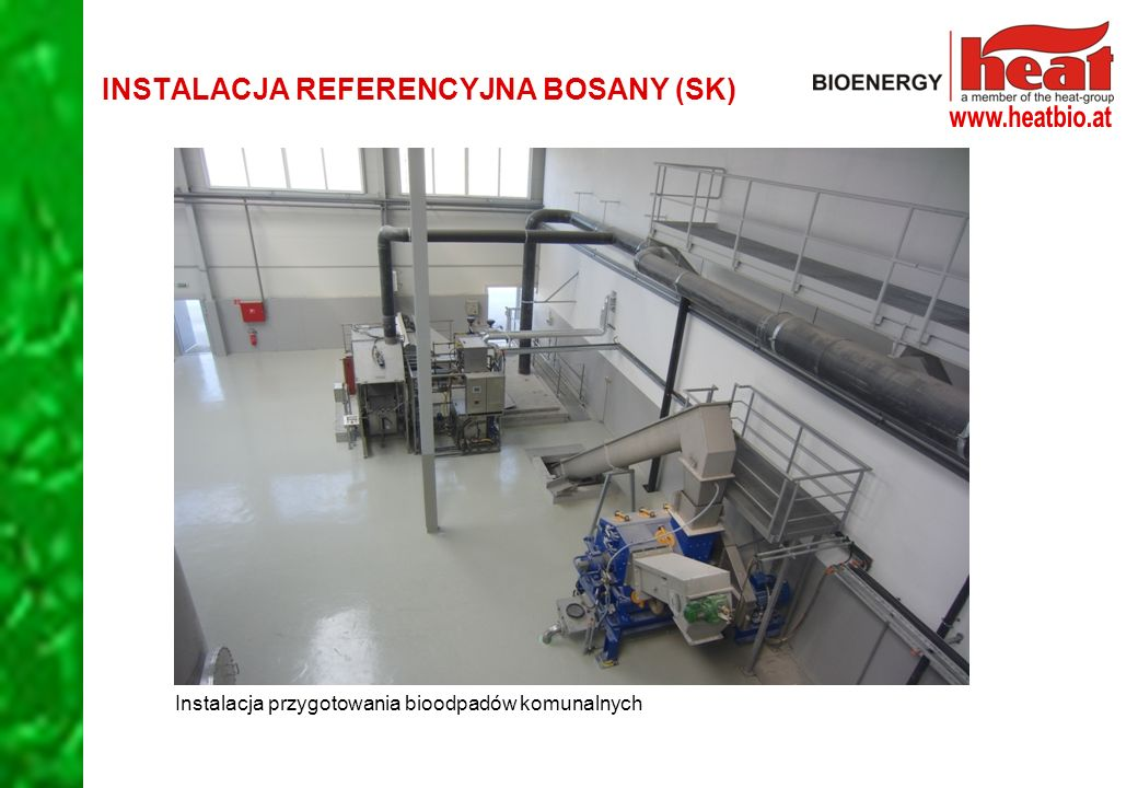 INSTALACJA REFERENCYJNA BOSANY (SK)