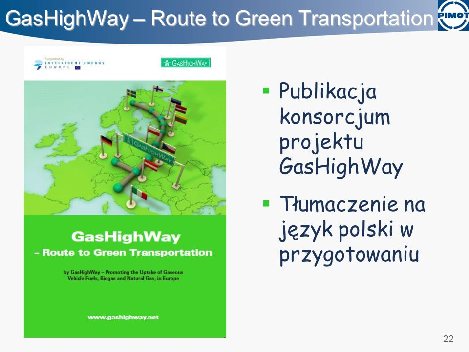 GasHighWay – Route to Green Transportation
