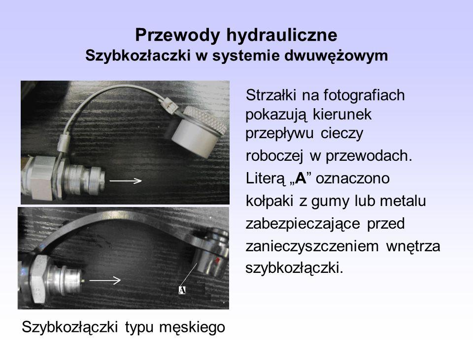Przewody hydrauliczne Szybkozłaczki w systemie dwuwężowym