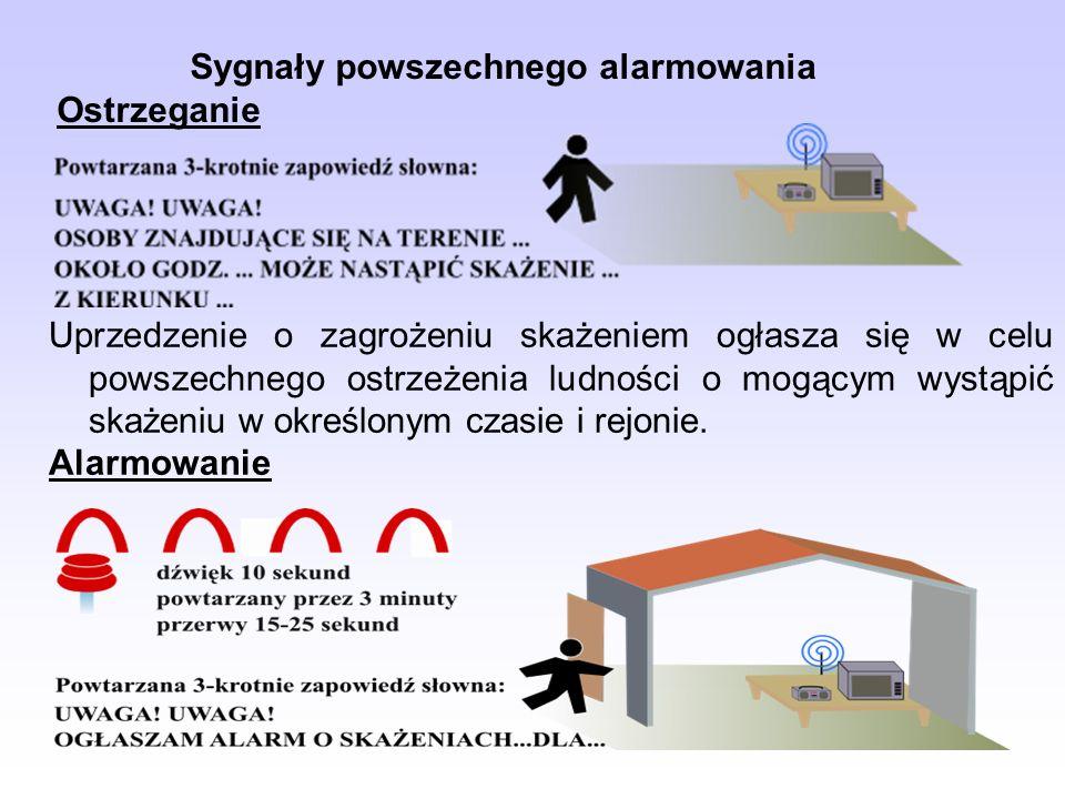 Sygnały powszechnego alarmowania