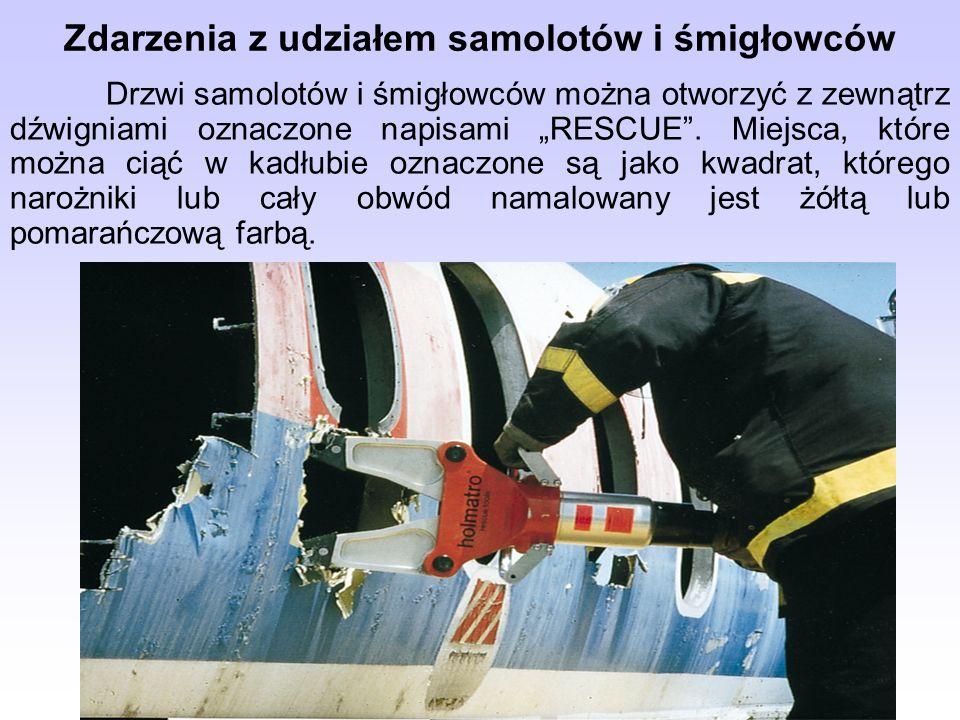 Zdarzenia z udziałem samolotów i śmigłowców