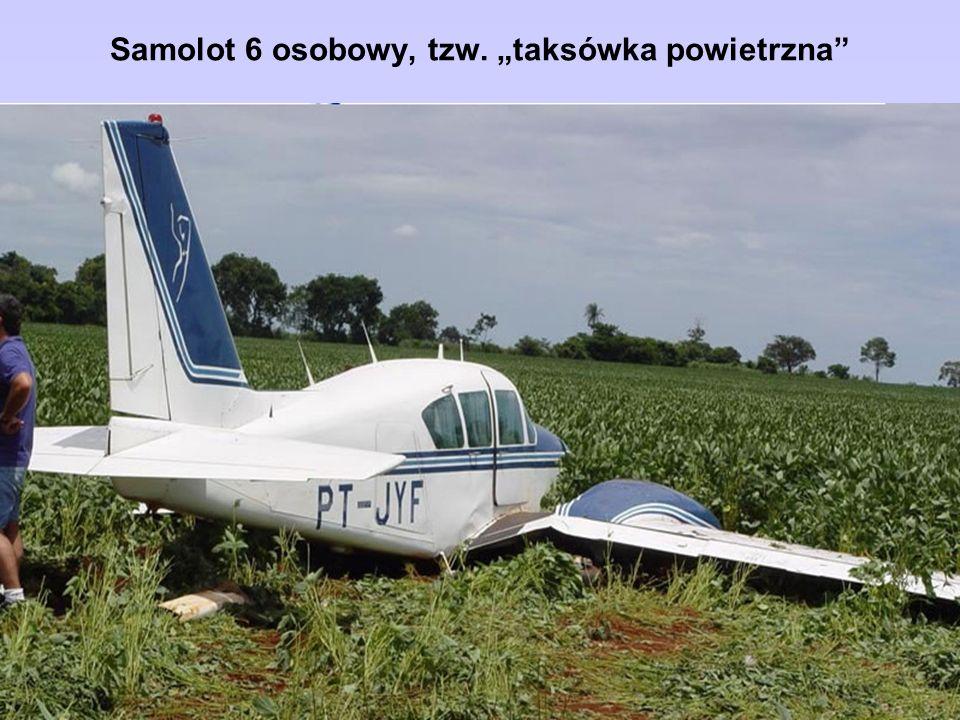 """Samolot 6 osobowy, tzw. """"taksówka powietrzna"""