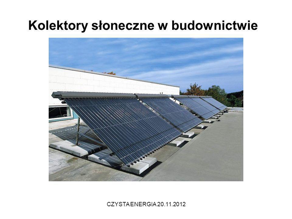 Kolektory słoneczne w budownictwie