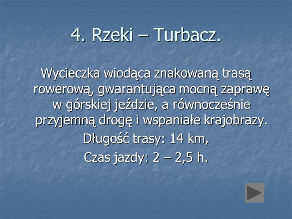 4. Rzeki – Turbacz.
