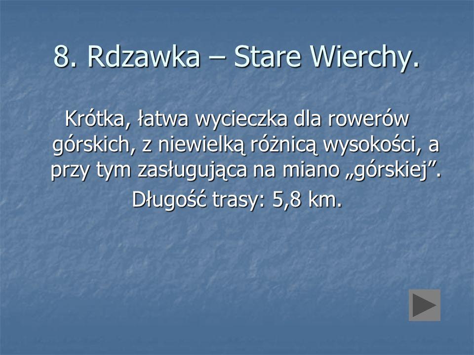 8. Rdzawka – Stare Wierchy.
