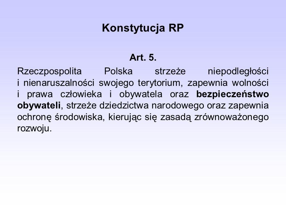 Konstytucja RP Art. 5.