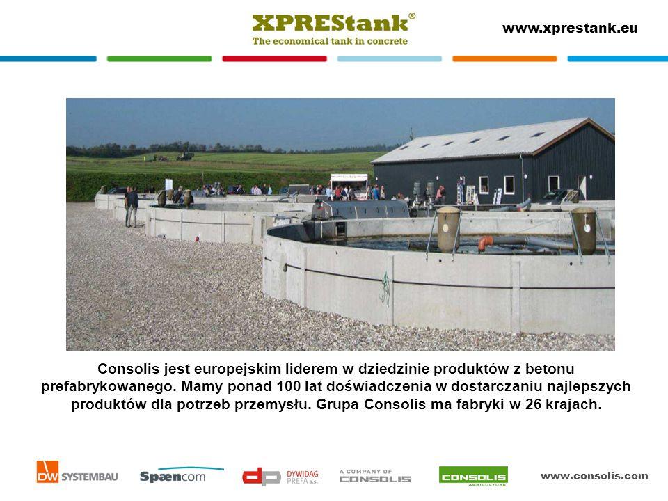 Consolis jest europejskim liderem w dziedzinie produktów z betonu prefabrykowanego.