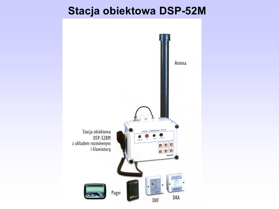 Stacja obiektowa DSP-52M