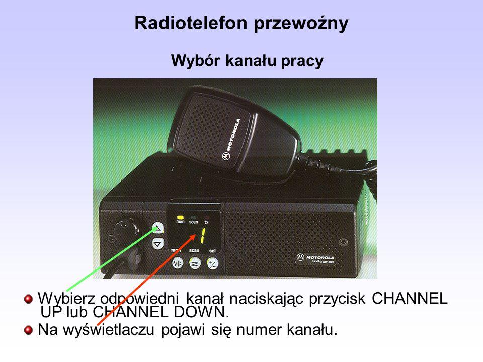 Radiotelefon przewoźny