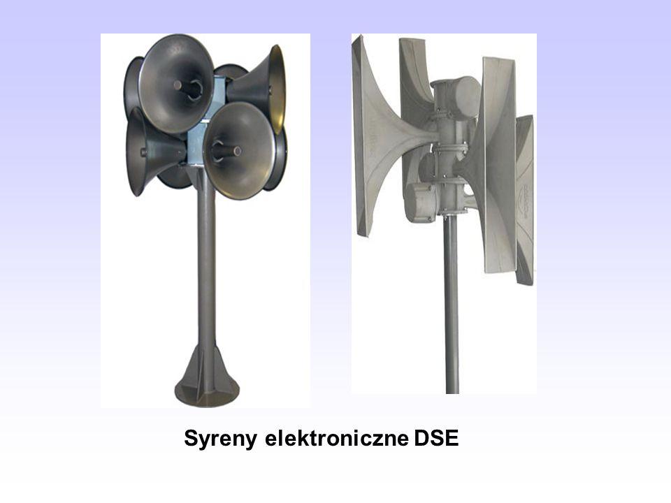 Syreny elektroniczne DSE