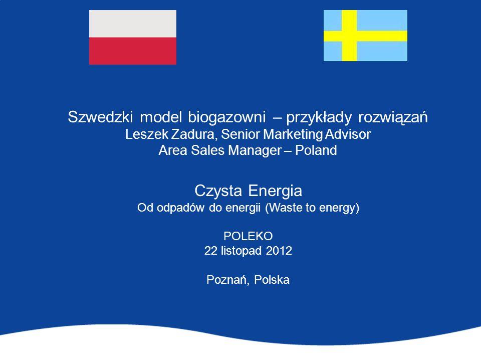 Szwedzki model biogazowni – przykłady rozwiązań