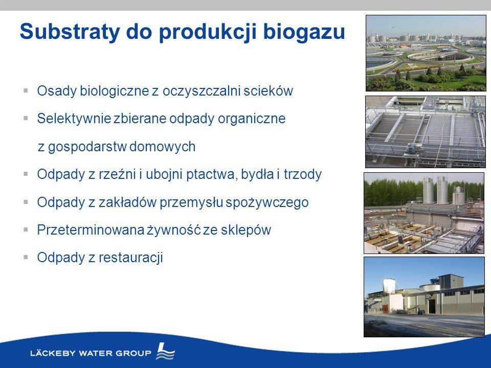 Substraty do produkcji biogazu