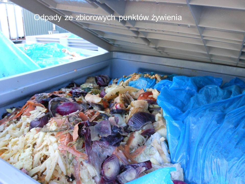 Odpady ze zbiorowych punktów żywienia