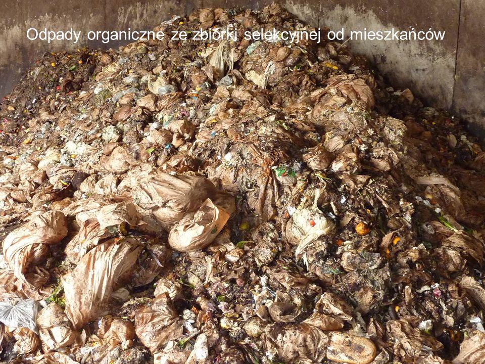 Odpady organiczne ze zbiórki selekcyjnej od mieszkańców