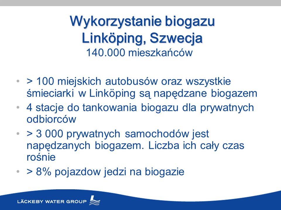Wykorzystanie biogazu